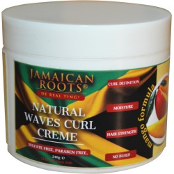 Jamaican Root Natural Waves Curl Crème – 250 ml