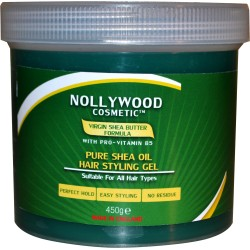 Nollywood Cosmetics - Pure Shea Oil Hair Styling Gel – 450g