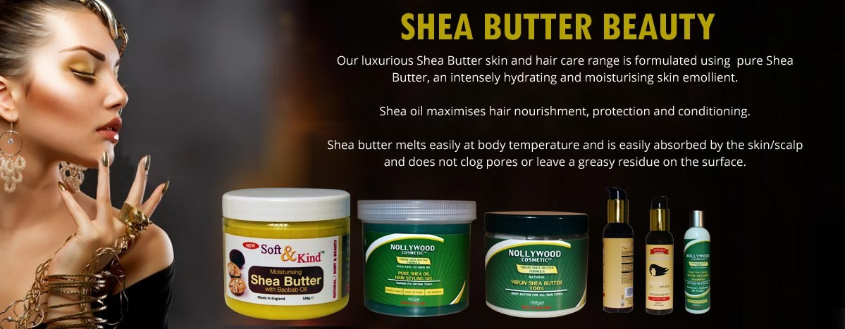 SHEA BUTTER BEAUTY